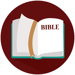 bible icon red